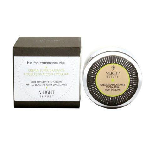 Vilight Beauty Hidratáló arckrém liposzómákba zárt fitoelasztinnal és kollagénnel, és doboza