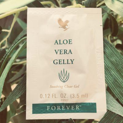 Termékminta Aloe Vera Gelly zöld krém