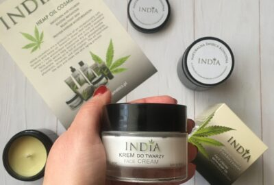 Cannabis arckrém India Cosmetics, 50 ml