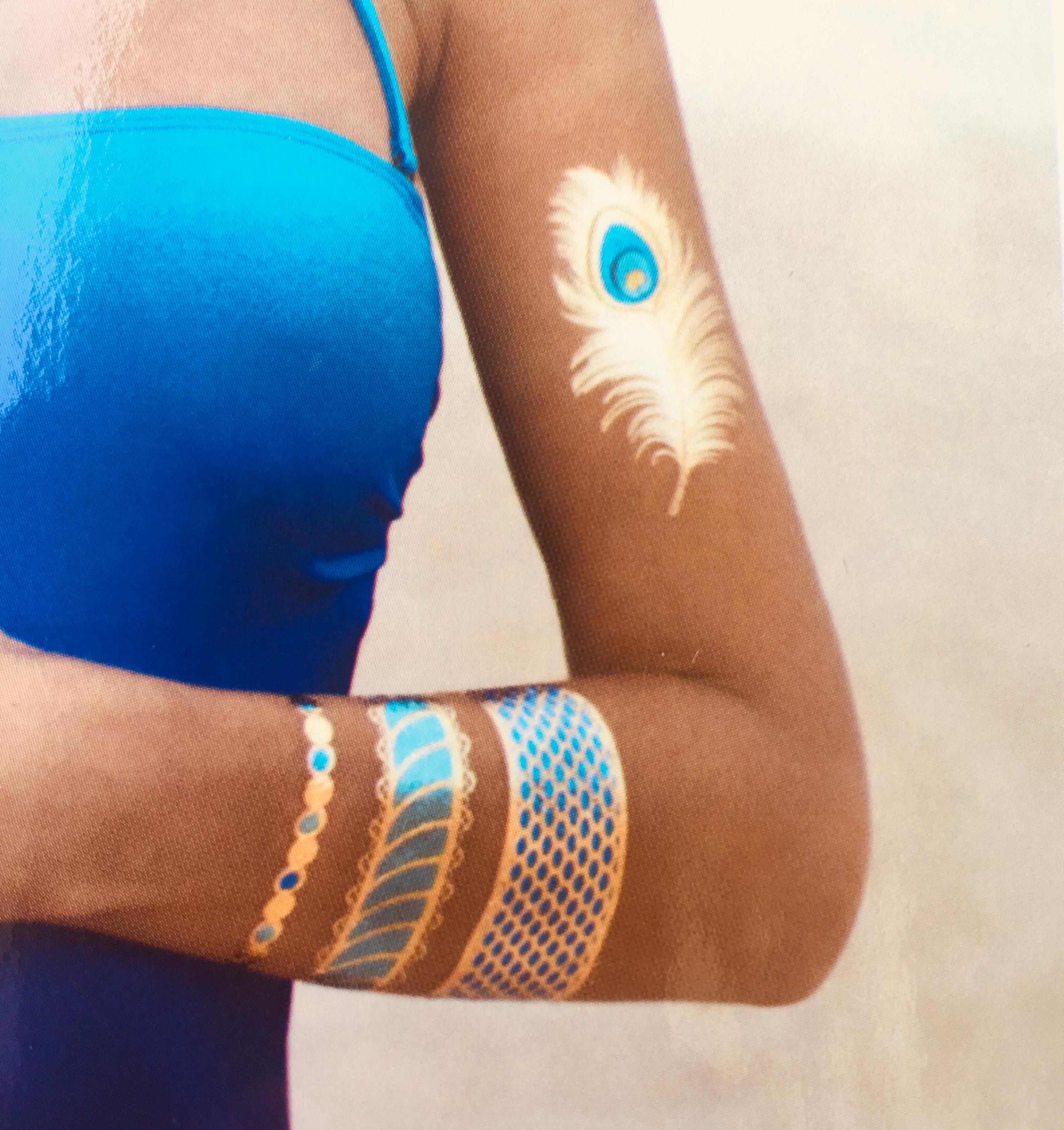 BLUE MARLIN Goddess Tattoos luxusminőségű tetoválás..